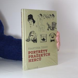 náhled knihy - Portréty pražských herců (zabalená kniha)
