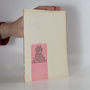 náhled knihy - Bílá místa v našich dějinách?