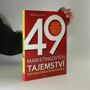 náhled knihy - 49 marketingových tajemství pro zaručené zvýšení prodeje