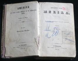 náhled knihy - Amerika - od času svého odkrytí až na nejnovější dobu. Díl třetí opanování Mexika - S použitím Veškerých známých parametrů
