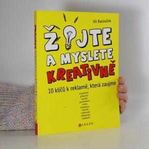 náhled knihy - Žijte a myslete kreativně