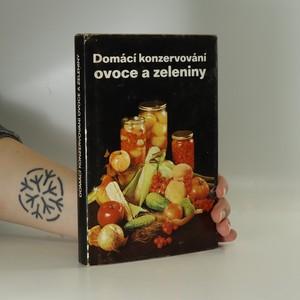 náhled knihy - Domácí konzervování ovoce a zeleniny