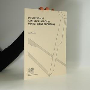 náhled knihy - Diferenciální a integrální počet funkcí jedné proměnné