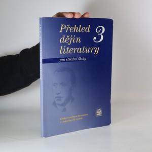 náhled knihy - Přehled dějin literatury: pro střední školy