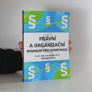náhled knihy - Právní a organizační minimum pro sportovce