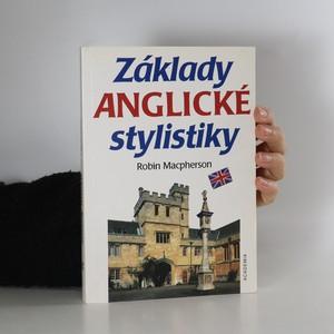 náhled knihy - Základy anglické stylistiky