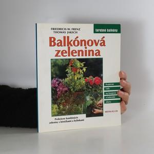 náhled knihy - Balkónová zelenina (slovensky)
