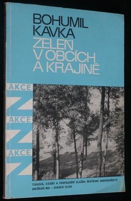 náhled knihy - Zeleň v obcích a krajině : Akce Z