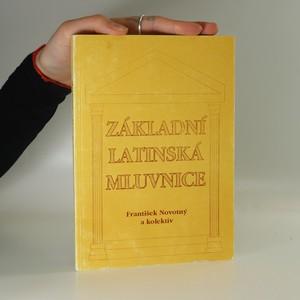 náhled knihy - Základní latinská mluvnice