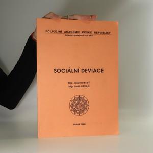 náhled knihy - Sociální deviace