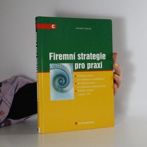 náhled knihy - Firemní strategie pro praxi