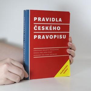 náhled knihy - Pravidla českého pravopisu. Studentské vidání