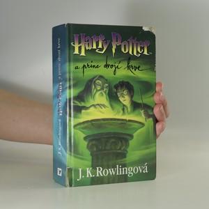 náhled knihy - Harry Potter a princ dvojí krve (poničena, viz foto)