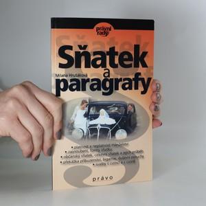 náhled knihy - Sňatek a paragrafy