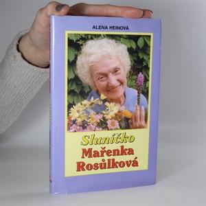 náhled knihy - Sluníčko Mařenka Rosůlková