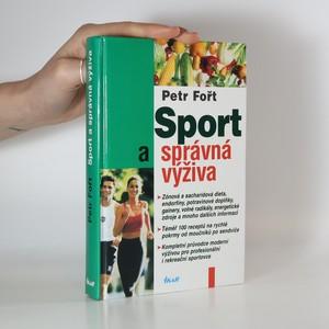 náhled knihy - Sport a správná výživa