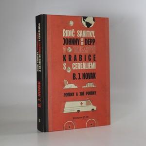 náhled knihy - Řidič sanitky, Johnny Depp a tajemství krabice s cereáliemi