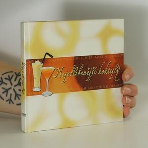 náhled knihy - Nejoblíbenější koktejly