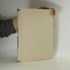 náhled knihy - Časopis Melodie, roč. 21 (1983)