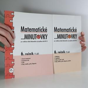 náhled knihy - Matematické minutovky 6. ročník. 1. a 2. díl. (2 svazky)