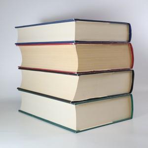 antikvární kniha Odkaz Dračích jezdců. 1.-4. díl. Eragon. Eldest. Brisingr. Inheritance (4 svazky, 3 svazky s podpisem autora), 2012
