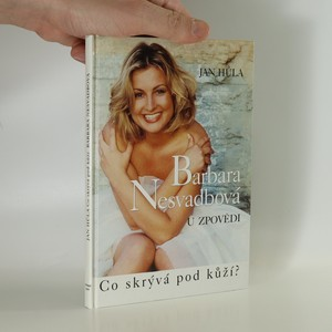 náhled knihy - Barbara Nesvadbová u zpovědi (podpis B. Nesvadbové)
