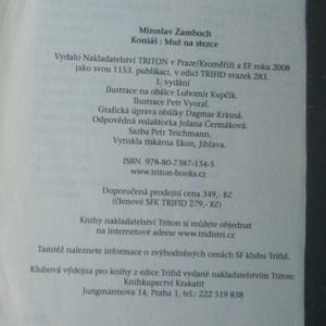 antikvární kniha Koniáš : muž na stezce, 2008