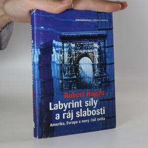 náhled knihy - Labyrint síly a ráj slabosti : Amerika, Evropa a nový řád světa