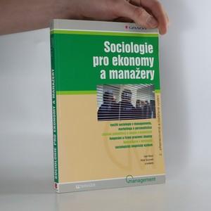 náhled knihy - Sociologie pro ekonomy a manažery