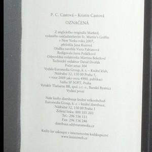 antikvární kniha Označená. Škola noci 1, 2009