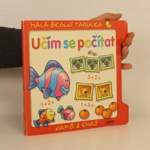náhled knihy - Učím se počítat : malá školní tabulka - napiš & smaž
