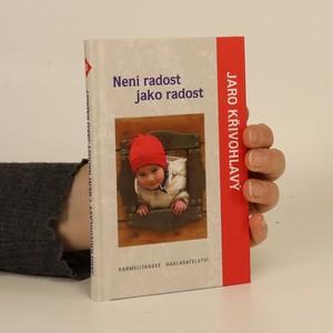 náhled knihy - Není radost jako radost
