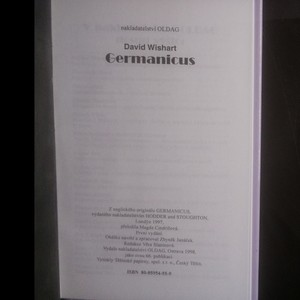 antikvární kniha Germanicus. Marcus Corvinus 2, 1998