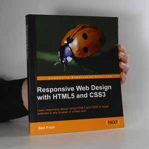 náhled knihy - Responsive web design with HTML5 and CSS3