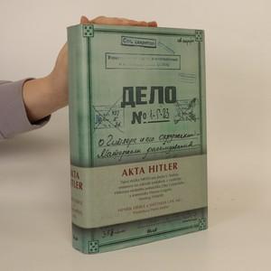 náhled knihy - Akta Hitler
