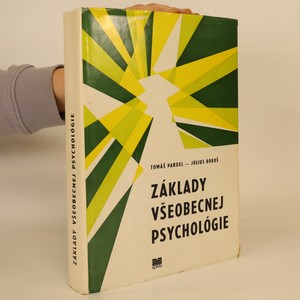 náhled knihy - Zálady všeobecnej psychológie (slovensky)