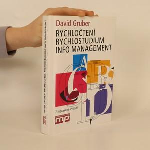 náhled knihy - Rychločtení, rychlostudium, info management