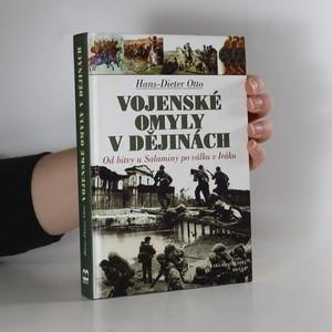 náhled knihy - Vojenské omyly v dějinách