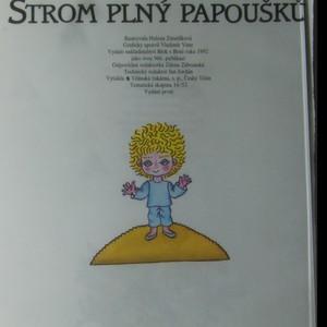 antikvární kniha Strom plný papoušků, 1992