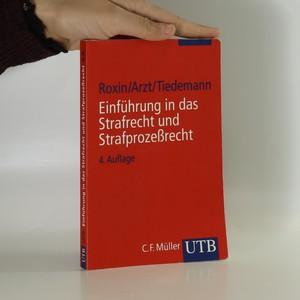 náhled knihy - Einführung in das Strafrecht und Strafprozessrecht