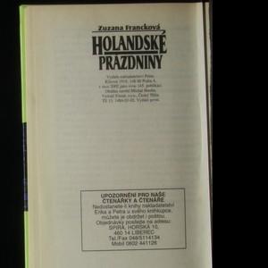 antikvární kniha Holandské prázdniny, 2002