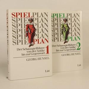 náhled knihy - Spielplan. Der Schauspielführer von der Antike bis zur Gegenwart. Band I + II (2 svazky, viz foto)