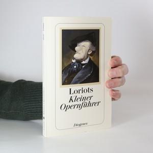 náhled knihy - Loriots kleiner Opernführer