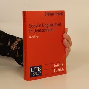 náhled knihy - Soziale Ungleichheit in Deutschland