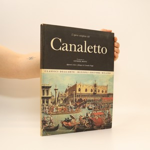 náhled knihy - L'opera completa del canaletto
