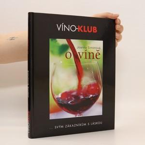 náhled knihy - O víně