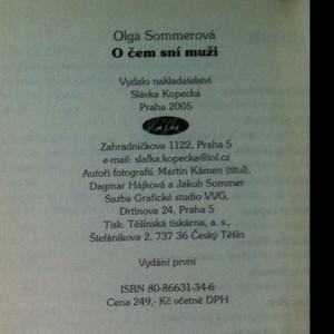 antikvární kniha O čem sní muži, 2005