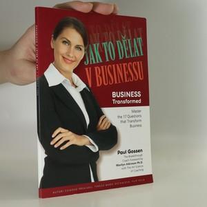 náhled knihy - Jak to dělat v businessu