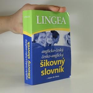 náhled knihy - Anglicko-český, česko-anglický šikovný slovník