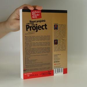 antikvární kniha Řízení projektů v Microsoft Office Project : učebnice pro vysoké školy, 2007
